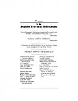 Daleiden v. NAF USSC Petition for Writ of Certiorari