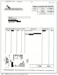 Figure 3: ABR Invoice