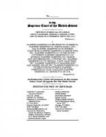 Petition for Writ of Certiorari PPFA v. CMP