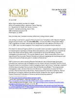 CMP Title X Comment